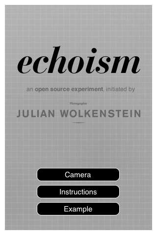 Echoism iPhone App