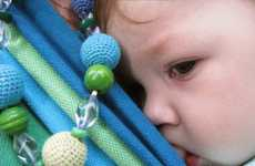 Stylish Teethers - Elena Elle Slingobeads and Slings Help Babies Develop Motor Skills