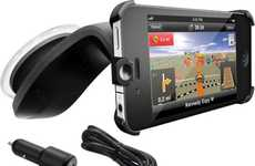 Smartphone Navigation Kits - The Navigon iPhone Car Kit Turns Your Mobile into a Mounted GPS Unit