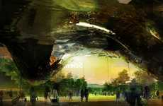 Colossal Science Centers - This OFF Architecture Proposal is a Mountainous Eco Structure
