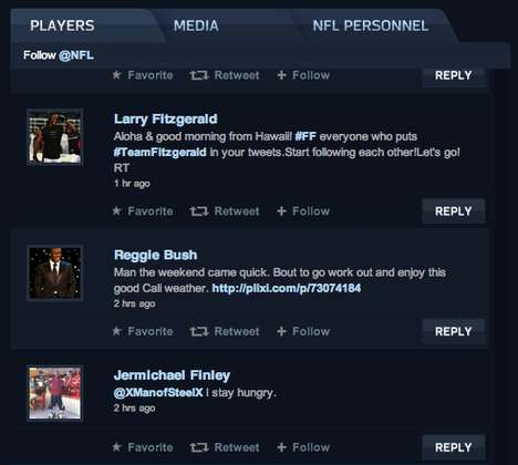Interactive Football Sites - Go Inside Super Bowl XLV With Visa Puts Tweets in One Spot
