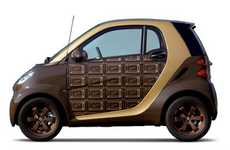 Chocolate-Covered Cars - The Q-Pot Smart ForTwo is the Ultimate Valentine's Day Gift