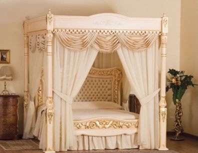 Divine Luxury Beds - A Royal Sleep in the Baldacchino Supreme Luxury Bed is Only $6.35 Million Away