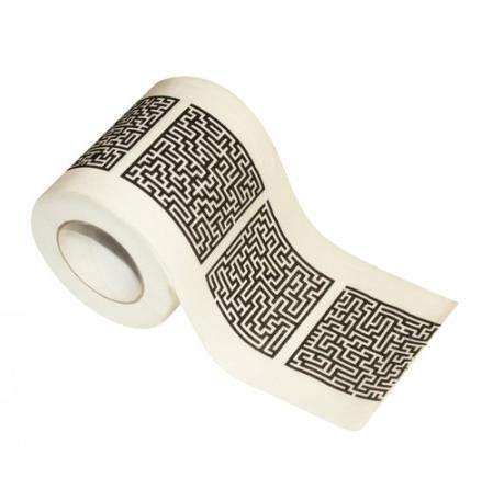 Maze Puzzle Toilet Paper
