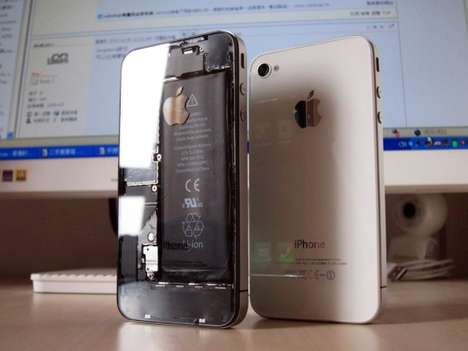 Transparent iPhone