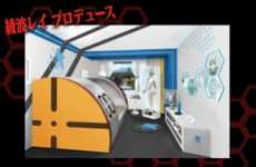 Anime Hotel Rooms