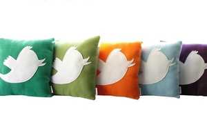 These Anony Tweet Pillows are for the Chirpy Tweeps