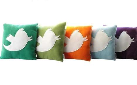 Twitterific Cushions - These Anony Tweet Pillows are for the Chirpy Tweeps