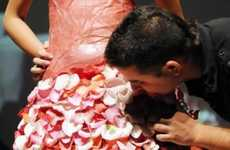 Juan Manuel Barrientos Cooks Up a Pair of Edible Wedding Gowns