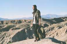 Rugged Military Menswear - The Publish Fall Collection Carries on Military Inspiration