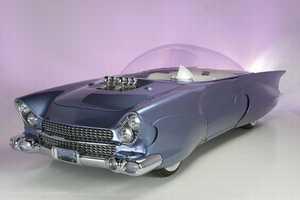 The 1956 Ford Beatnik Bubbletop is Futuristic Yet Retro
