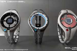 The Solaris Series Concept Watches Have a Futuristic Aesthetic