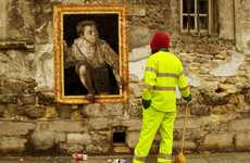 Revived Masterpieces - Zilda Breathes New Life into Famous Paintings and Puts Them on the Streets