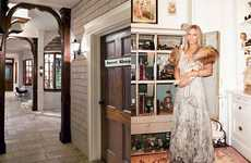 Mansion Shopping Malls - The Barbra Streisand Harper's Bazaar Dream House Photo Shoot