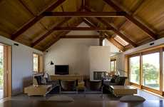 Rain-Catching Renovations - The Trial Bay House Addition is a Sweeping Sustainable Eco Home Retrofit