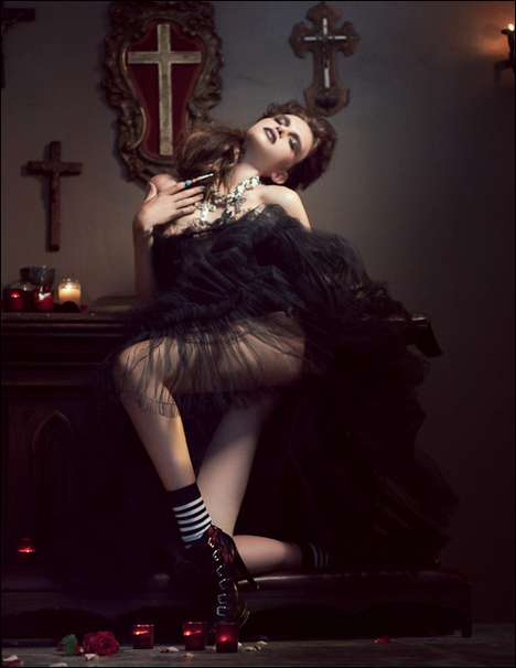 Haute Religiontography - Melissa Rodwell's Photography Crosses Lines