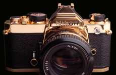 Exclusive Gold-Plated Cameras