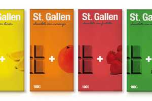 St Gallen Chocolate Packaging Keeps it Sweet and Simple
