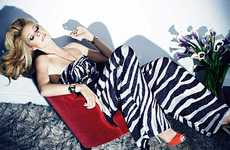 Zebra-Print Jumpsuits - The Wild, Windswept Gwyneth Paltrow Harper's Bazaar UK Shoot