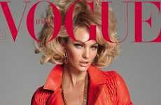 The Candice Swanepoel Vogue Italia Cover is Super Sassy