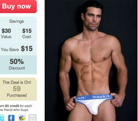 Gay-Friendly Online Discounts - Fab Deals Releases 'Big Gay Deal of the Day' for Daily Bargains