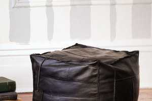 The ReMade USA Ottoman Recycles Leather Jackets