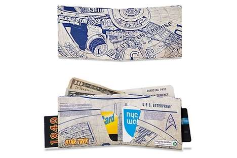 Star Trek Enterprise Wallet
