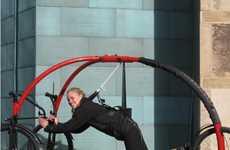 Hang-Gliding Bikes