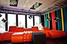 Bright Geometric Sofas