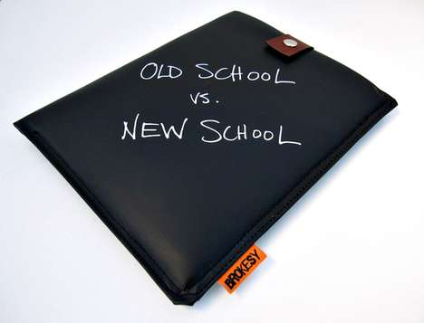 Brokesy Chalkboard iPad Case