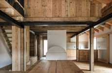 Heritage Solar Barns - This EXiT Architetti Associati Mountain Retreat is Incredibly Sustainable