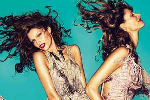 The Roberto Cavalli Spring 2011 Campaign is Full-Blown