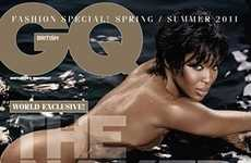 Naomi Campbell Bares All for GQ Magazine 2011 UK