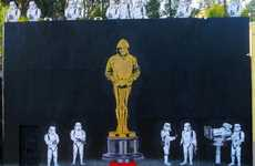 Movie Award Graffiti - Nomination for 'Exit Through the Gift Shop' Inspires a Banksy Oscar Mural