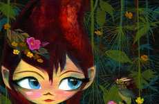 Animated Pixie Prints