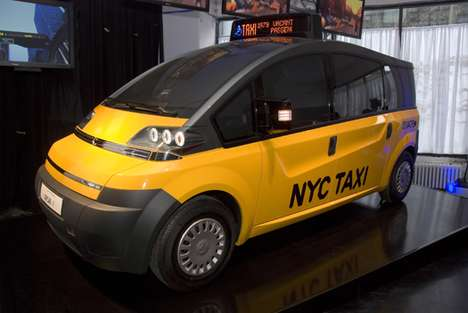 Future Taxis - The Karsan NYC Taxi of Tomorrow Concept is Funky and Spacious
