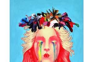 Tasha Kusama Creates Bright and Hairy Paintings