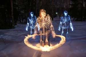 Janne Parviainen Sheds a New Light on Art With His Skeletal Creations