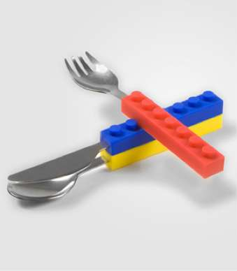 snack stack utensil set