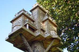 John Looser's Bird Mansions Will Make Your Jaw Drop