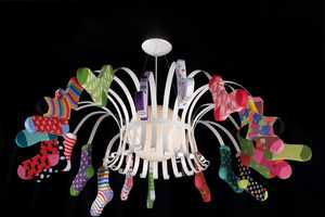 Fire Farm's Dancing Feet Chandelier is Full of Whimsy
