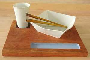 Mark Warren Creates Elegant, Minimalist Dining Sets