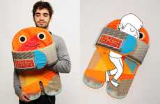 Extraterrestrial Cuddle Cushions