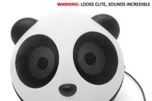 The Charming GOGroove Panda Pal Portable Speaker