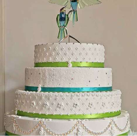 Swarovski Wedding Cake