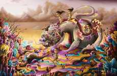 Surreal Beastly Paintings - Artist Michael Page Shows Off His Incredible Imagination