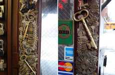 Key-Covered Storefronts - This Funky Greenwich Locksmiths Store Knows the Keys to Success