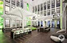Paradise Offices - The New MTV Headquarters in Berlin Will Make You Want to Work Harder
