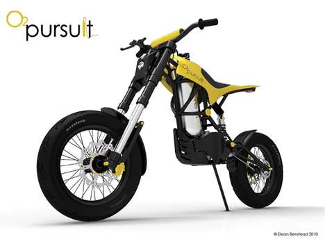 Air-Powered Motorcycles - Super-Sustainable Engineair O2 Pursuit is Fueled by Compressed Air