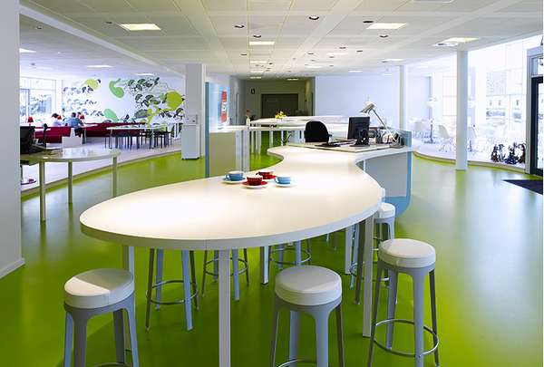 Funky office spaces lego group nikkidshaw - Corporate office design ideas ...